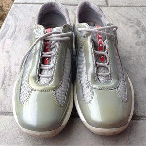 Womans Prada sneakers.